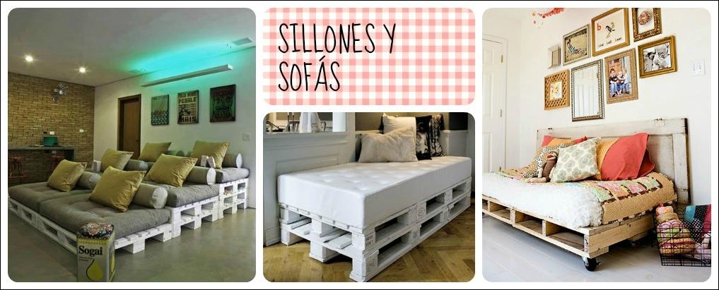 Reciclar con palets sillones y sofas - Reciclar palets para muebles ...