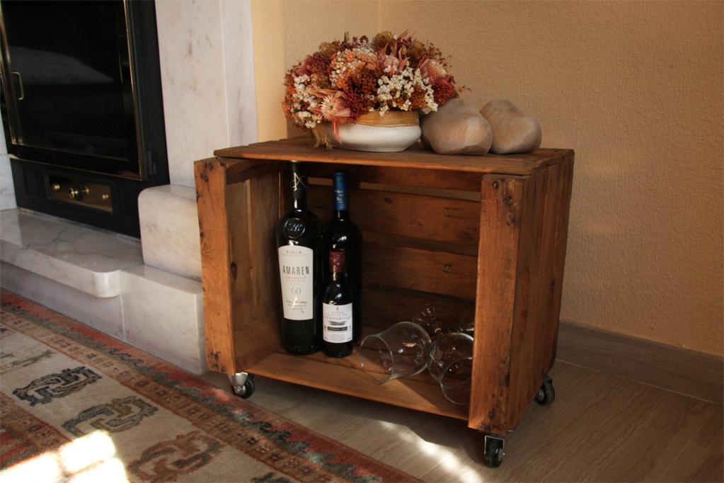 mesa cajas de fruta abedul ecodeco mobiliario ForMesa Con Cajas De Fruta
