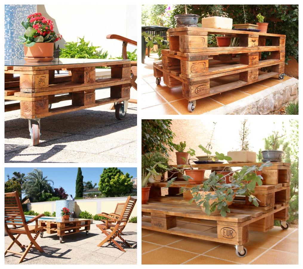 Ecodeco mobiliario - Mobiliario con palets ...