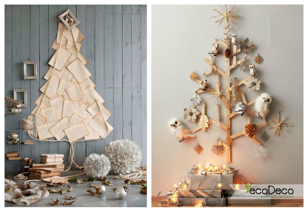Navidad reciclada ecodeco mobiliario - Decoracion navidad vintage ...