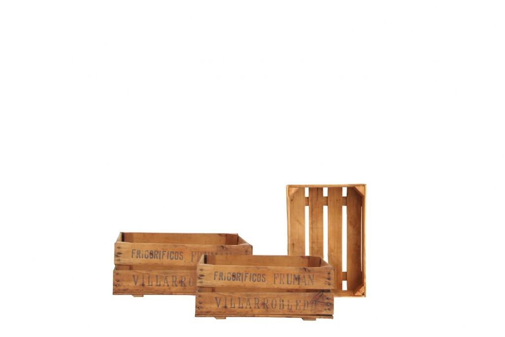 Cajas de fruta tronco ecodeco mobiliario - Cajas de fruta ...