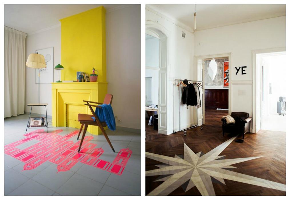 Pintar el suelo ecodeco mobiliario - Pintar suelo terrazo ...