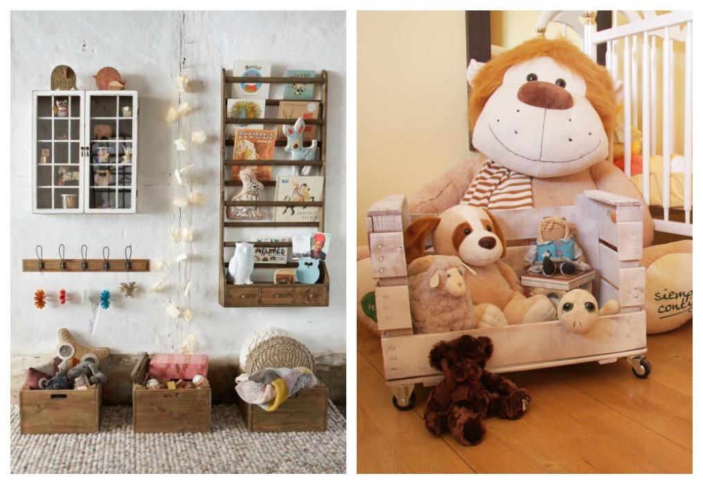 Cajas de fruta infantiles ecodeco mobiliario - Baul para guardar juguetes ninos ...