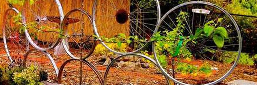 Decoraci n con ruedas de bici archives for Decoracion con ruedas