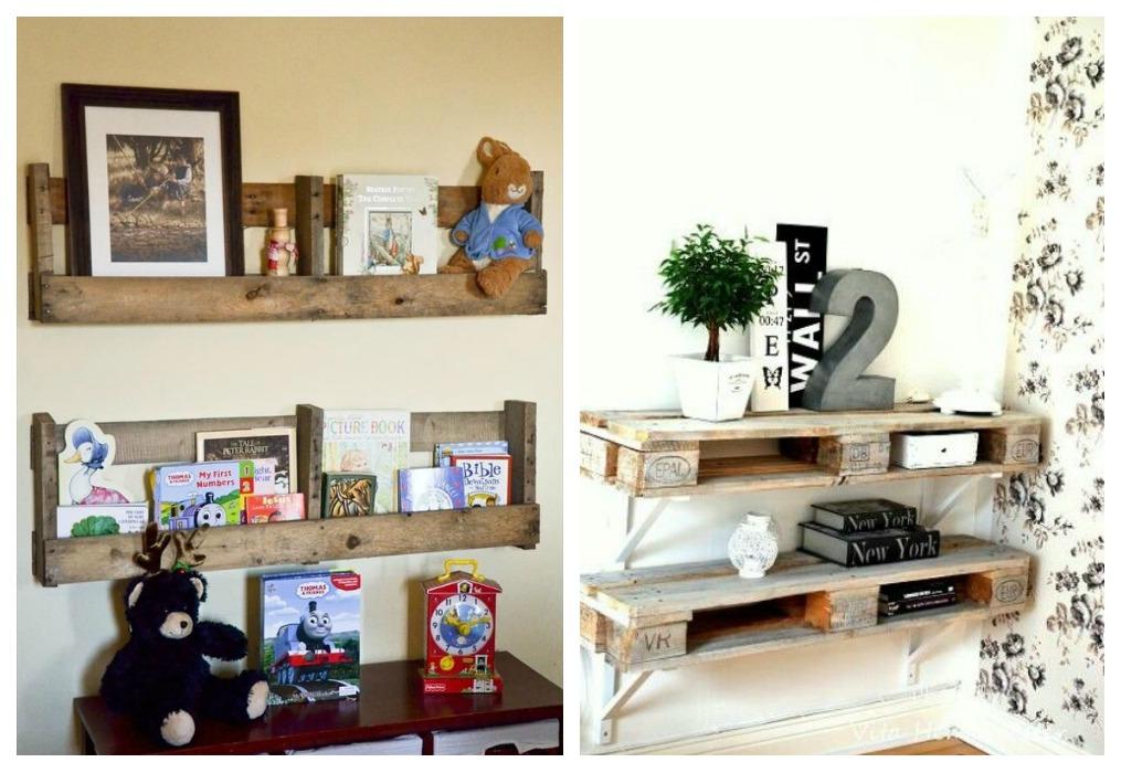 Estanterias decorar tu casa es - Estanterias con palet ...