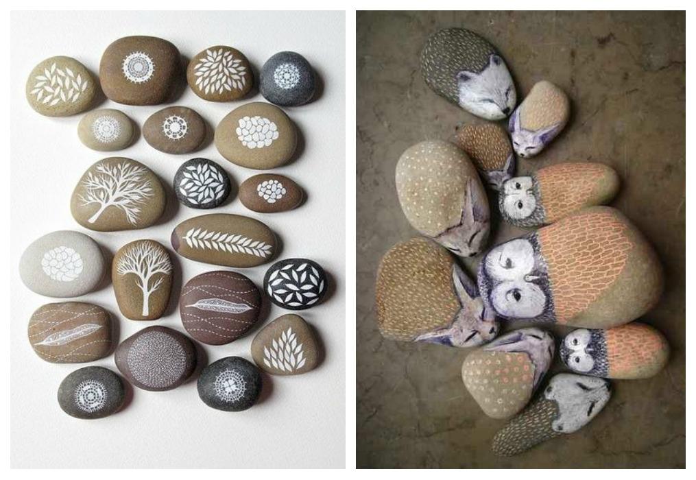 Unpoquitodetodo - Piedras de rio pintadas ...
