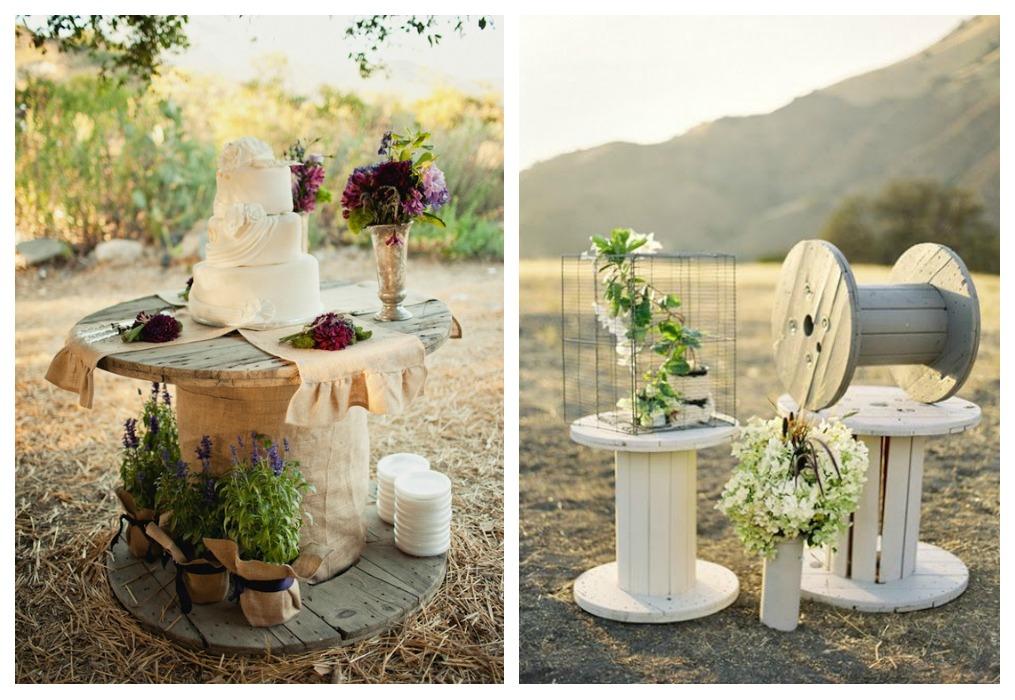 Reciclaje para bodas ecodeco mobiliario for Decoracion vintage boda