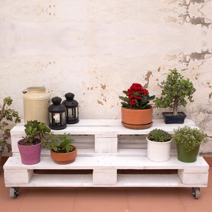jardineras de palets - Jardineras Con Palets