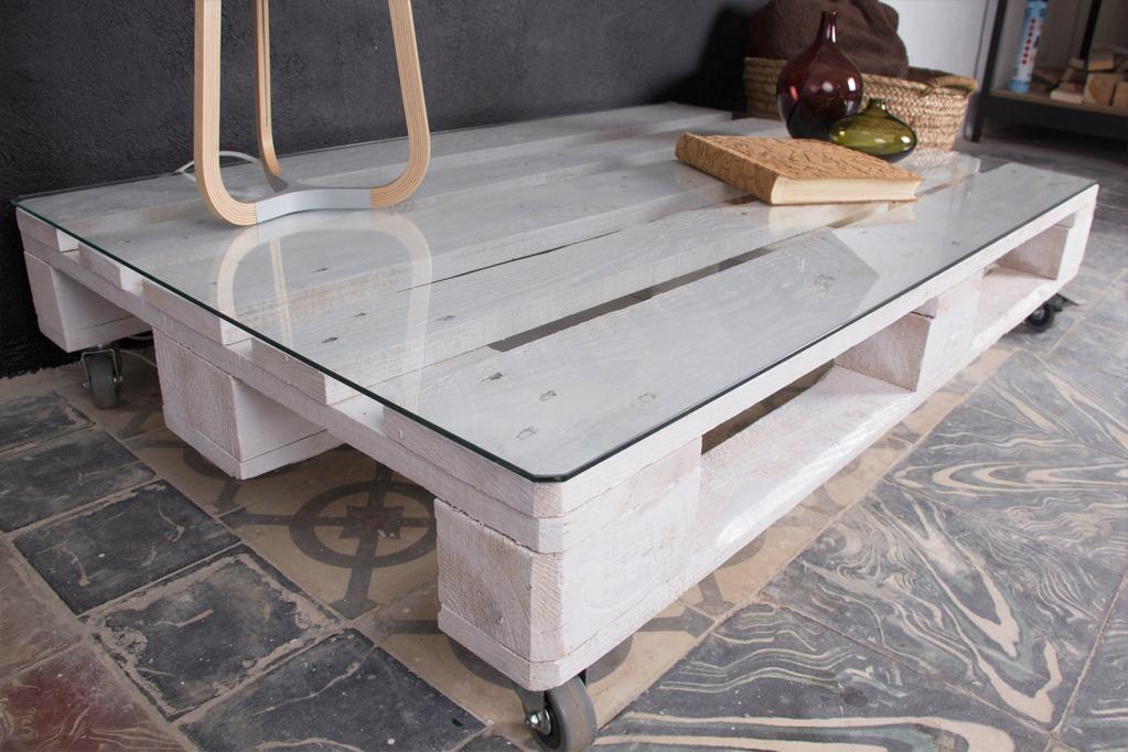 Mesa palets mulhac n ecodeco mobiliario - Mesas de palet ...