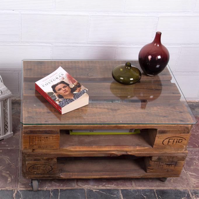 Mesa de palets sagra ecodeco mobiliario for Reciclar palets de madera paso a paso