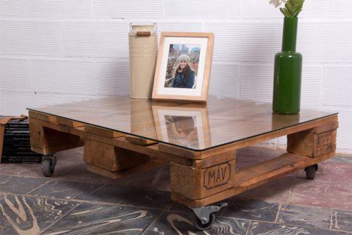 Mesa palets teide ecodeco mobiliario - Mobiliario con palets ...