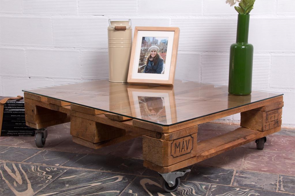 Mesa palets teide ecodeco mobiliario for Mesa de palets paso a paso