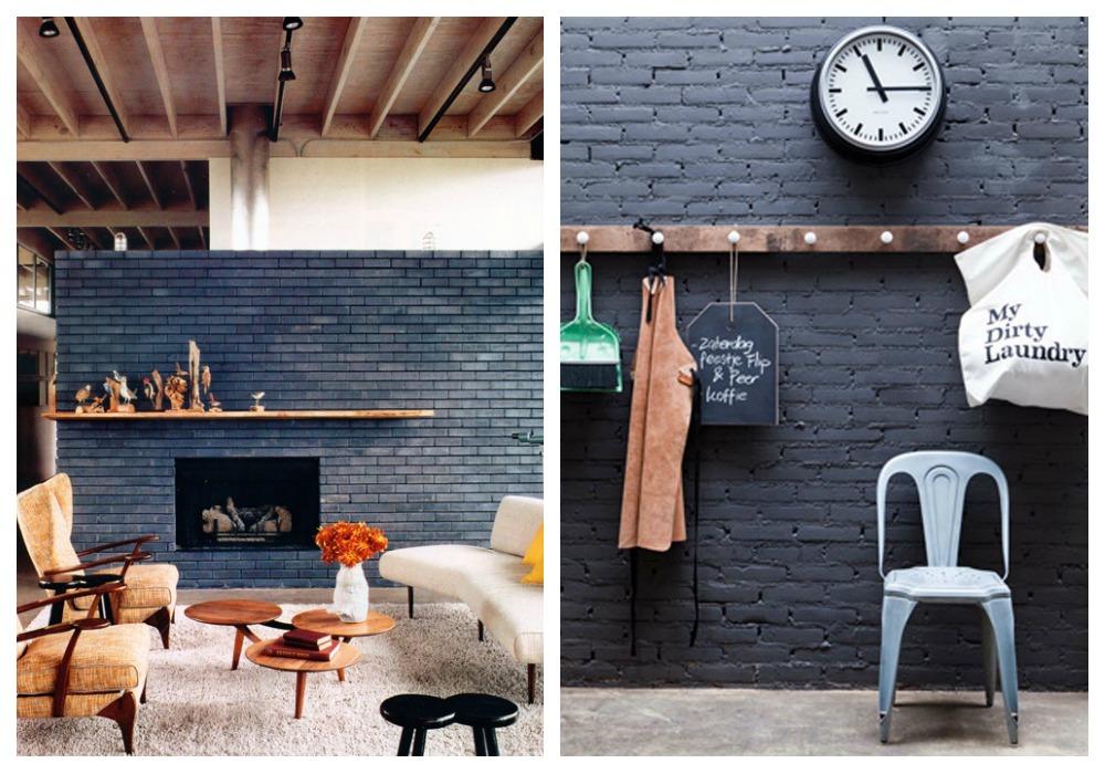 Paredes de ladrillo visto ecodeco mobiliario - Ladrillo decorativo interior ...