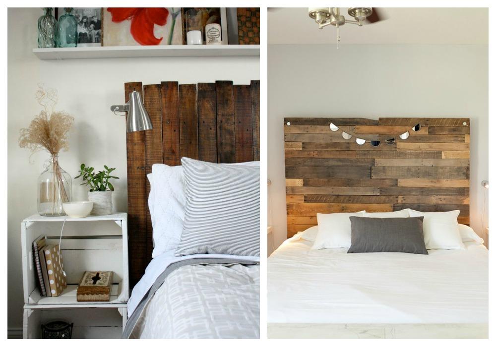 Cabeceros de palets ecodeco mobiliario - Ideas para cabeceros de cama originales ...