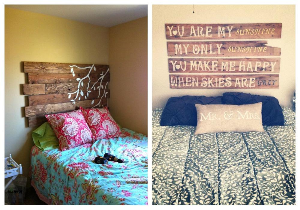 Cabeceros de palets decoraci n - Forrar cabecero de cama ...