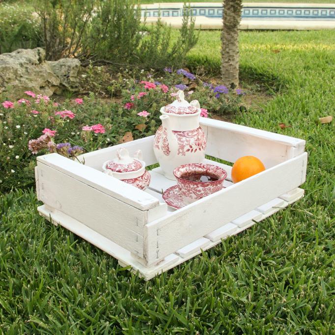 Bandeja caja de fruta ecodeco mobiliario - Caja de frutas de madera ...