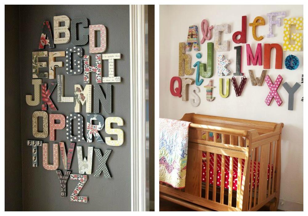 Decorar con letras ecodeco mobiliario - Casa letras madera ...