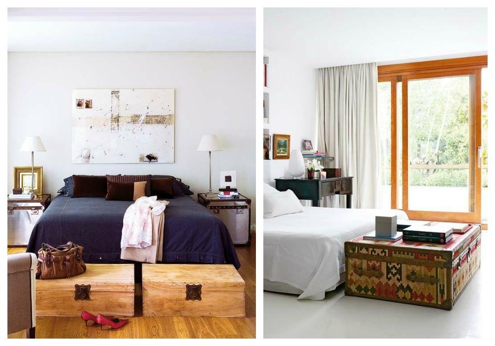Ba les vintage decoraci n - Baules para dormitorios ...