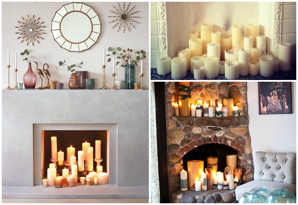 Llega el tiempo de chimenea ecodeco mobiliario - Decoracion para chimeneas de lena ...