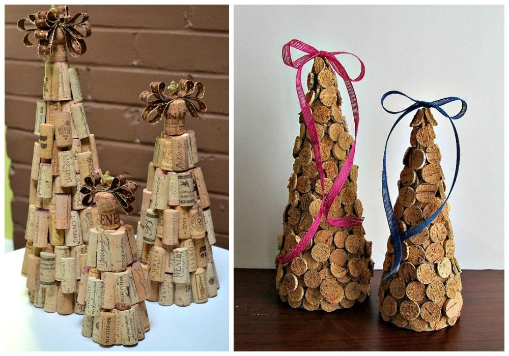 Decoraci n de navidad con corchos decoraci n for Decoracion navidad