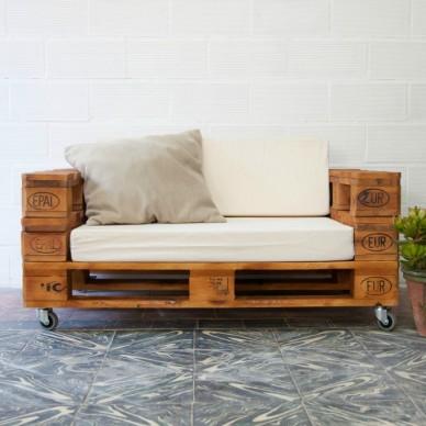 Tienda online de muebles hechos con materiales reciclados for Reciclado de palets sillones