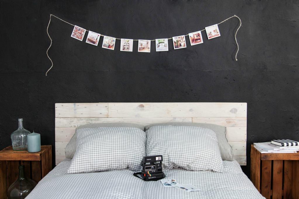 Cabeceros de palets ecodeco mobiliario - Cabeceros de cama blancos ...