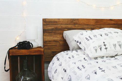 Aspe cabecero palets 160 ecodeco mobiliario - Cabeceros madera vintage ...