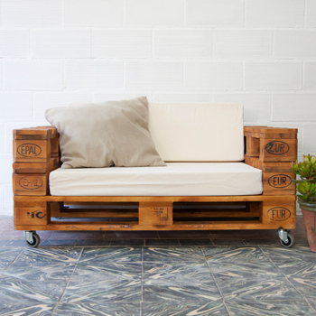 Cabeceros de palets ecodeco mobiliario for Reciclar muebles usados