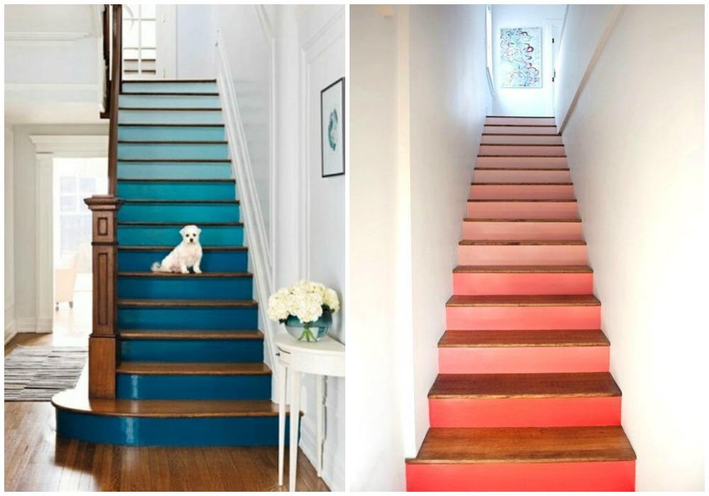 Pintar escaleras ecodeco mobiliario - Pinturas para madera interior ...