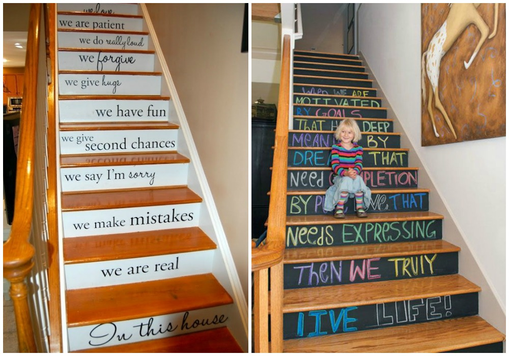 Pintar escaleras ecodeco mobiliario - Escaleras para pintar ...