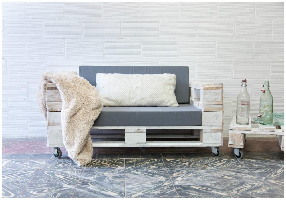 Sof de palets ecodeco mobiliario for Sofas con palets para jardin
