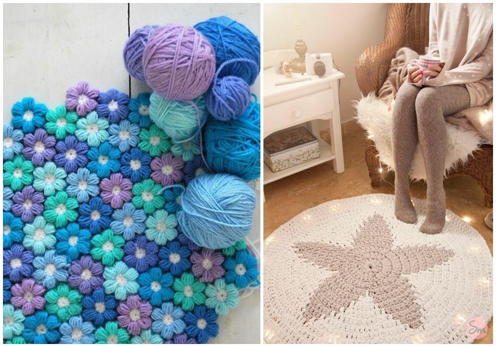 Alfombra diy ecodeco mobiliario for Alfombras hechas con lana