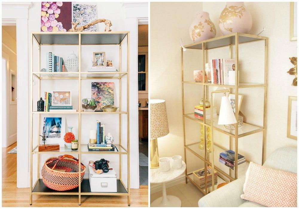 01-decorar-en-dorado-estantería