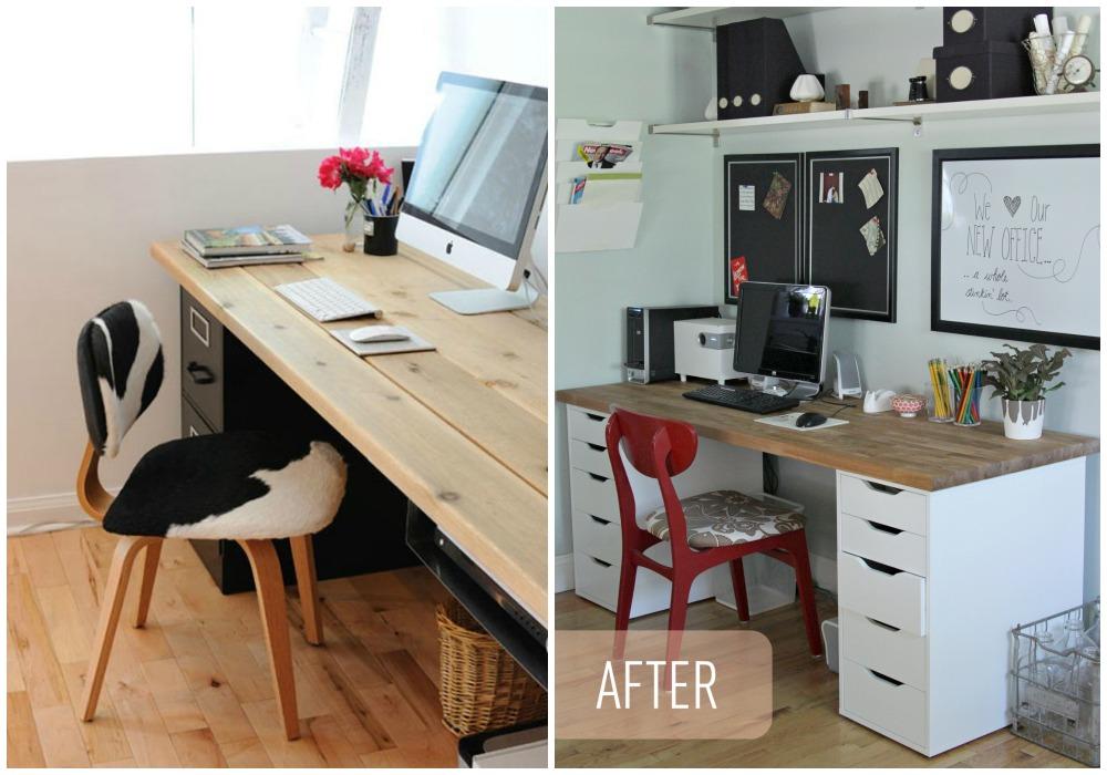 Diy escritorio ecodeco mobiliario for Tableros para escritorios