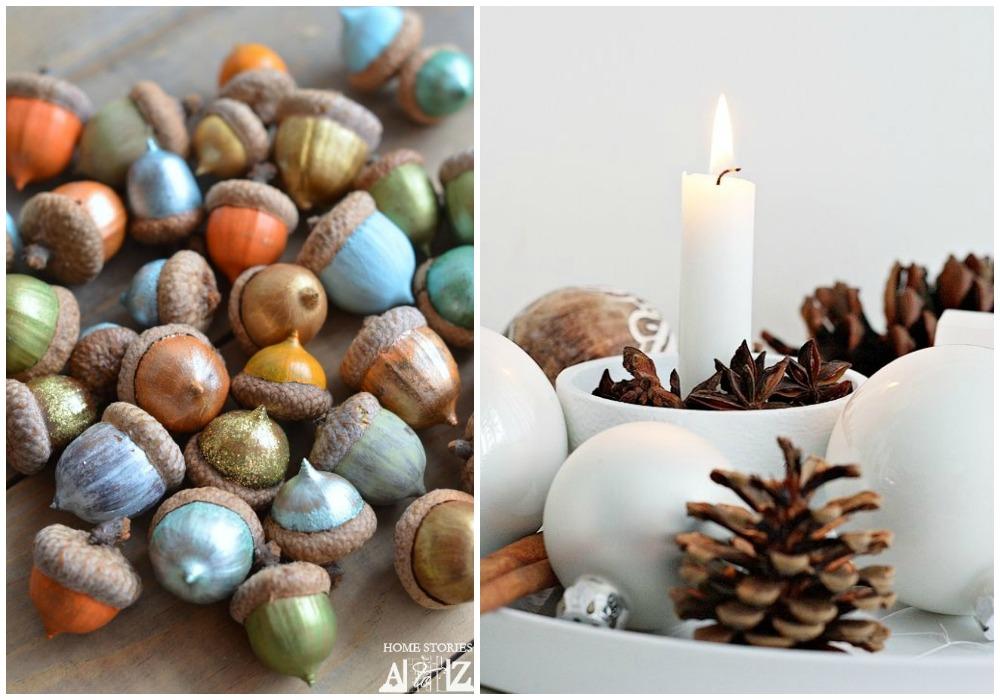 03-decorar-la-mesa-en-otono-pinas-bellotas