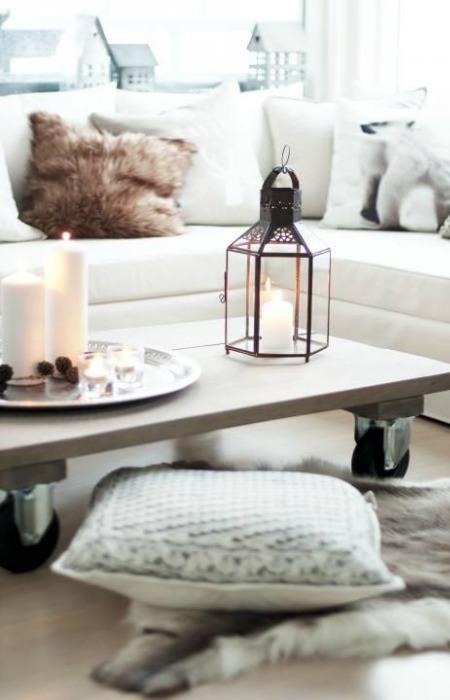 Bandeja como centro de mesa ecodeco mobiliario - Bandejas decoracion salon ...