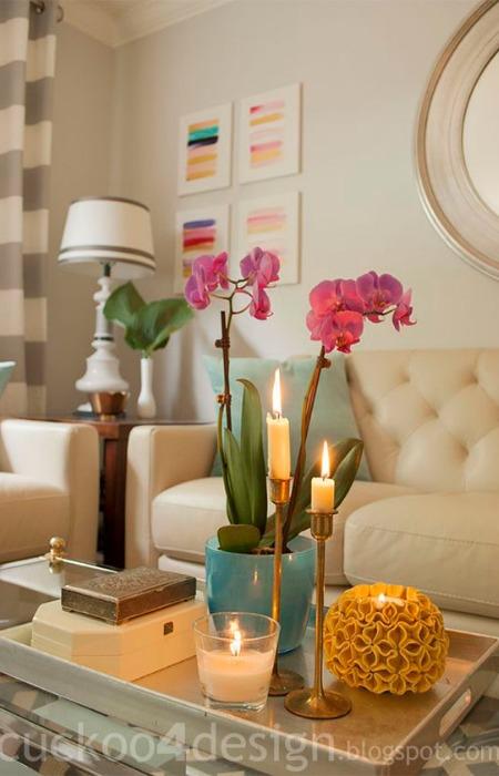 Bandeja como centro de mesa ecodeco mobiliario for Bandejas decoracion salon