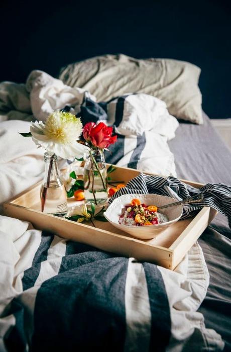 Mesa de desayuno ecodeco mobiliario - Bandeja desayuno cama ...