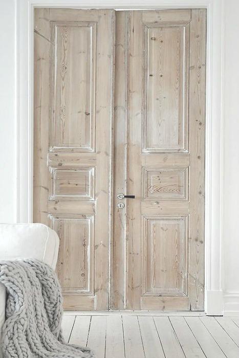 puertas antiguas dobles dormitorio ecodeco