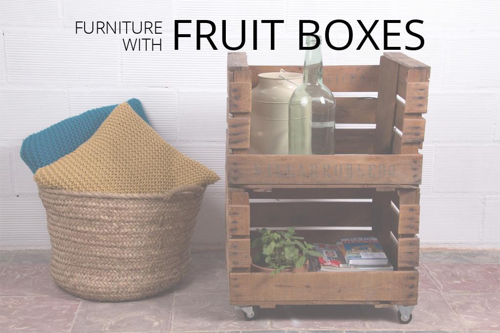 tienda online de muebles hechos con materiales reciclados