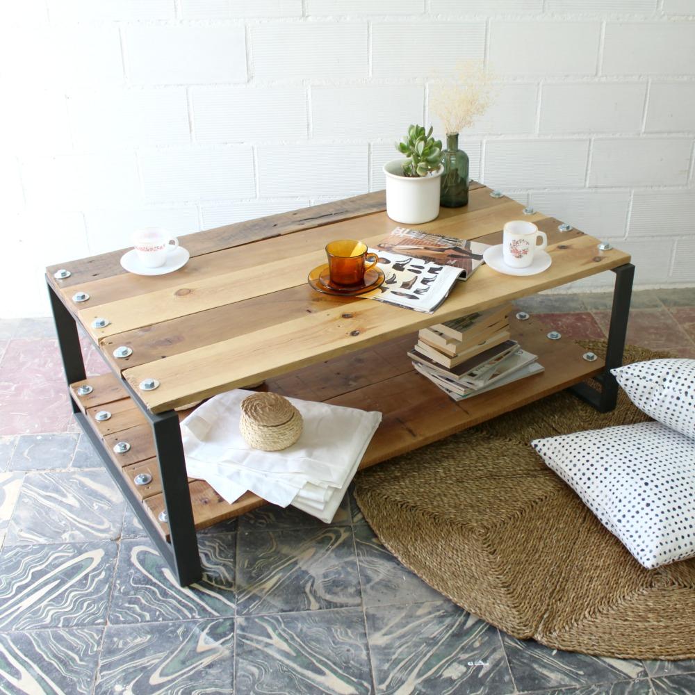 Muebles ecol gicos ecodeco mobiliario for Muebles con troncos
