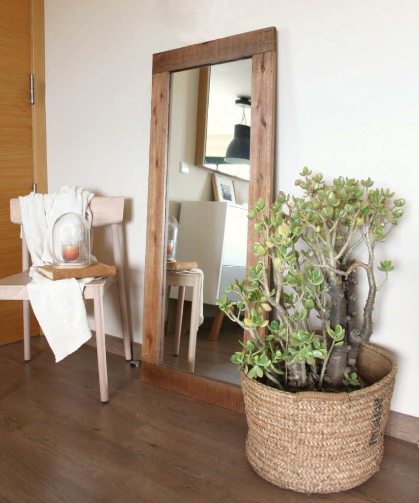 MIRRORS WITH RECYCLED WOOD FRAME - ECOdECO Mobiliario