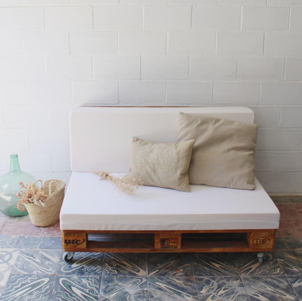 Maladeta sof palets ecodeco mobiliario - Construir sofa con palets ...